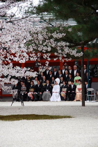 平安神宮で挙式