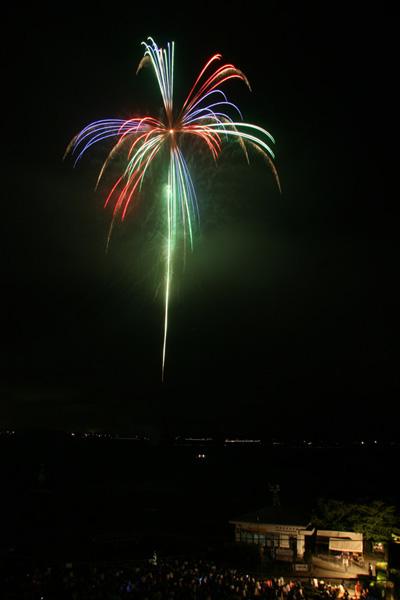 水原 瓢湖の花火3