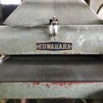 「桐たんす工場で使う機械」  「自動カンナ」