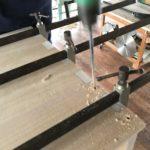 桐たんすの組み立て 東京都S様の桐チェストを作る その2