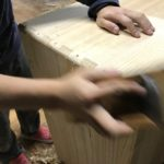 桐たんすの組み立て 東京都S様の桐チェストを作る その3