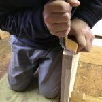 桐たんすの組み立て 東京都T様の小袖整理たんすを作る