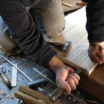 桐たんすの組み立て 東京都T様の小袖整理たんすを作る その2
