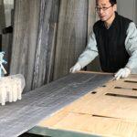 桐たんすの組み立て 宮崎県M様の和たんすを作る。途中から・・・。