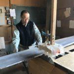 桐たんすの組み立て 北海道S様の桐チェストを作る3
