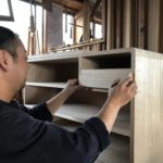 桐たんすの組み立て 北海道S様の桐チェストを作る4