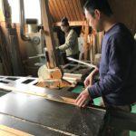 桐たんすの組み立て 北海道S様の桐チェストを作る