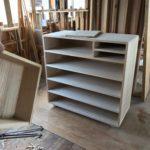 桐たんすの組み立て 北海道S様の桐チェストを作る5