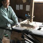 桐たんすの組み立て 新潟県H様の洋服たんすを作る4