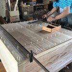 桐たんすの組み立て 東京都T様の和たんすを作る2