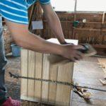 桐たんすの組み立て 神奈川県T様の和たんすを作る5