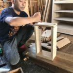 桐たんすの組み立て 東京都T様の和たんすを作る4