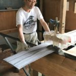 桐たんすの組み立て 東京都T様の和たんすを作る