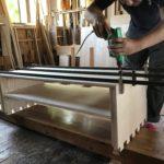 桐たんすの組み立て 愛媛県O様の和たんすを作る3