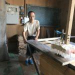 桐たんすの組み立て 岐阜県I様の桐チェストを作る