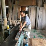 桐たんすの組み立て 埼玉県S様の和たんすを作る7