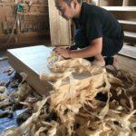 桐たんすの組み立て 埼玉県S様の和たんすを作る8