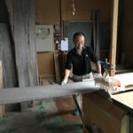 桐たんすの組み立て 東京都I様の和たんすを作る7