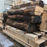 桐たんすの木取り。  棚板、立側を作る。
