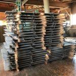 桐たんすの木取り  「板を貼る」
