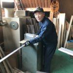 桐たんすの組み立て 大阪府N様の帯たんすを作る2