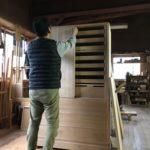桐たんすの組み立て 東京都Y様の和たんすを作る9