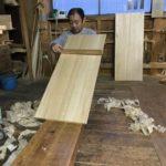 桐たんすの組み立て 神奈川県K様の整理たんすを作る