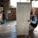桐たんすの組み立て 神奈川県K様の整理たんすを作る4
