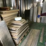 桐たんすの組み立て 神奈川県K様の整理たんすを作る2