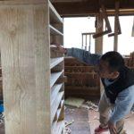 桐たんすの組み立て 埼玉県S様の整理たんすを作る4