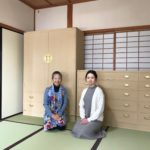 兵庫県まで桐たんすのお届けでした。