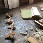 桐たんすの組み立て 愛媛県K様の整理たんすを作る3