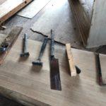 桐たんすの組み立て 宮城県M様の整理たんすを作る5