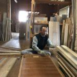 桐たんすの組み立て 東京都S様の和たんすを作る
