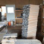 桐たんすの組み立て 宮城県M様の整理たんすを作る2