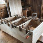 桐たんすの組み立て 神奈川県S様の和たんすを作る2