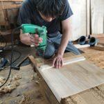 桐たんすの組み立て 東京都K様の和たんすを作る2