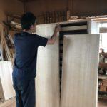 桐たんすの組み立て 神奈川県S様の和たんすを作る5