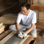 桐たんすの組み立て 東京都K様の和たんすを作る