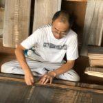 桐たんすの組み立て 大阪府H様の整理たんすを作る3