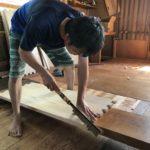 和たんすの組立て 新潟県T様の整理たんすを作る