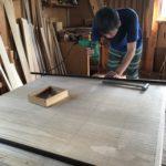 和たんすの組立て 新潟県T様の整理たんすを作る2