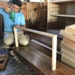 和たんすの組立て 福岡県H様の和たんすを作る 5