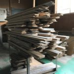 桐たんすの組み立て 三重県K様の整理たんすを作る2