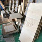 桐たんすの組み立て 三重県K様の整理たんすを作る4