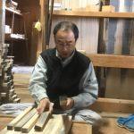 桐たんすの組み立て 埼玉県K様の整理たんすを作る2
