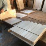 桐たんすの組み立て 埼玉県K様の整理たんすを作る4