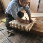 桐たんすの組み立て 埼玉県K様の整理たんすを作る6
