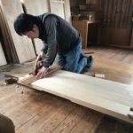桐たんすの組み立て 兵庫県N様の和たんすを作る2
