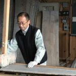 桐たんすの組み立て 兵庫県N様の和たんすを作る3